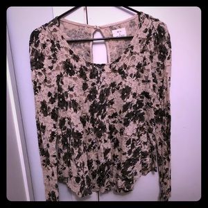 Lacey Fit and Flare Blouse